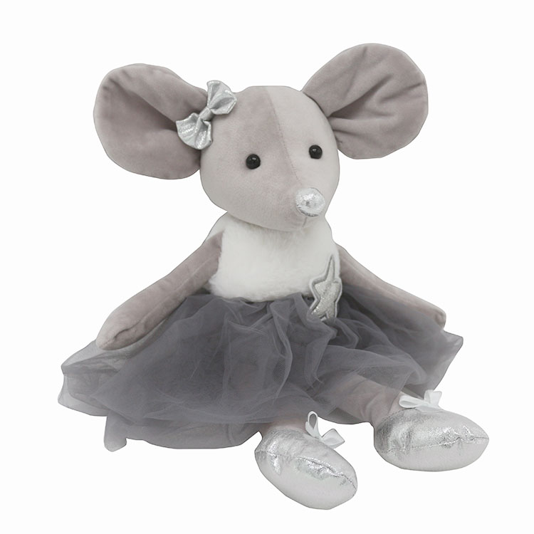 Birthday Princess Crown Tutu Dress Mouse Doll For Girls Cheap Stuffed Animal Mouse Bear Lovely Custom Plush Mouse Toy, View plush mouse toy, DOLPHINE