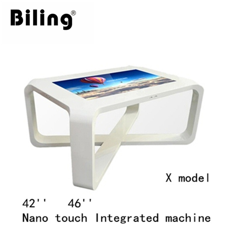 coffee table all in one touch screen ad player Nano touch Integrated machine touch screen display