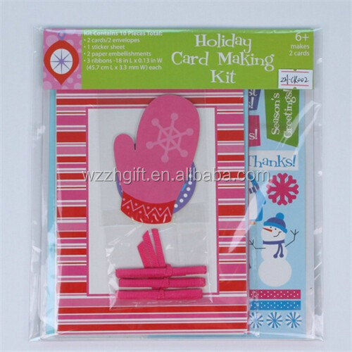 Happy life greeting craft holiday card making kit