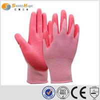 13 gauge safety youth work gloves