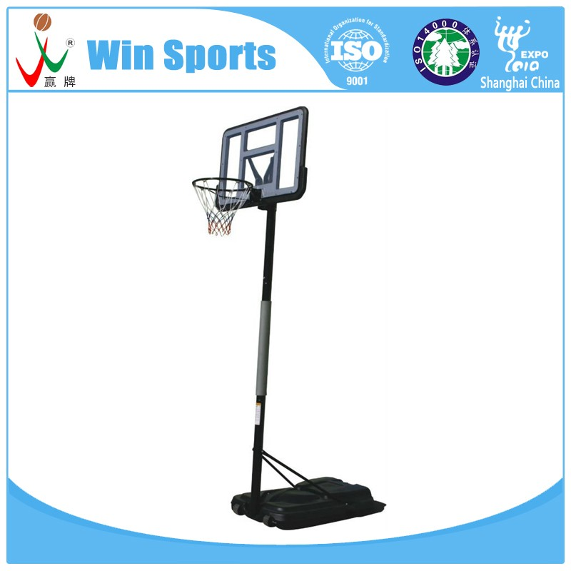 portable basketball wheels stands plastci base