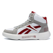 stock mens shoes white sport genuine leather casual sneaker