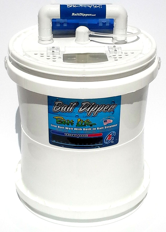Bait Bucket Livewell Aerator Bait Life