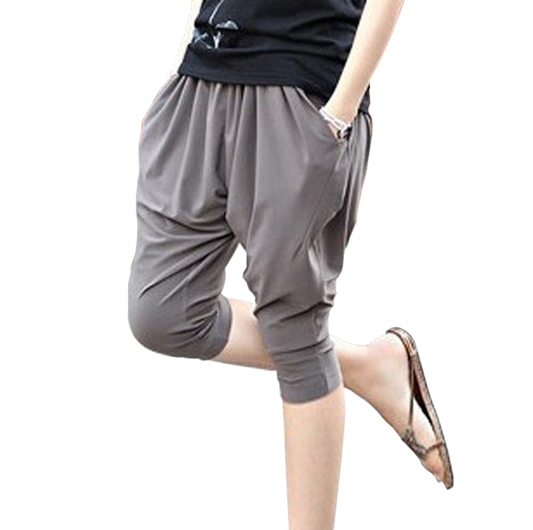 Buy Capris Casual Capris Fashion Harem Pants Plus Size Loose Mm Female Summer Yoga Pants In Cheap Price On M Alibaba Com