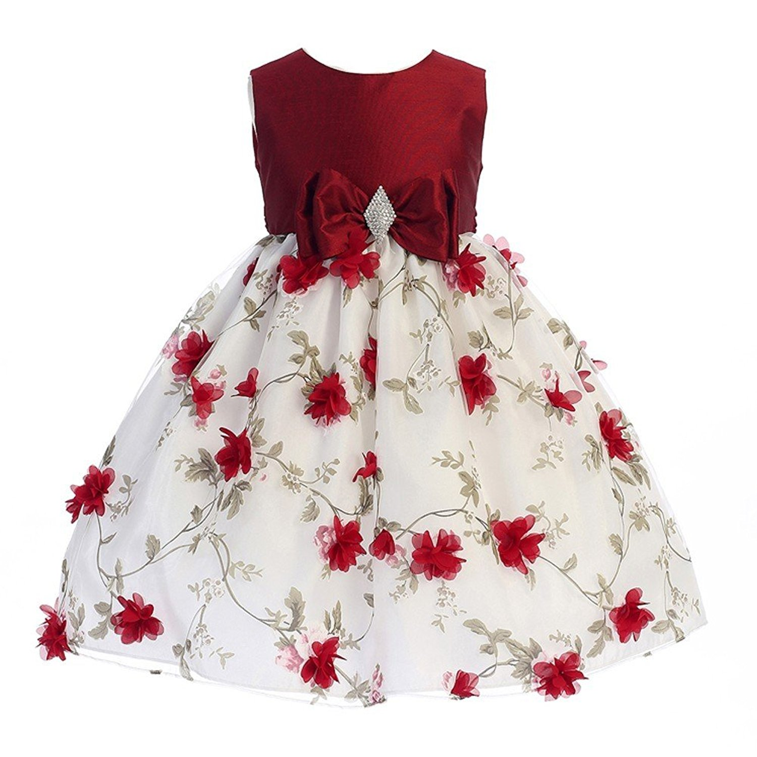 Cheap Girls Red And White Christmas Dress, find Girls Red And White ...
