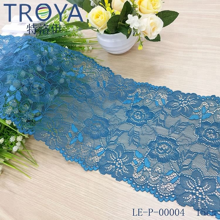 2-3CM Elegant Elastic Nylon Lace For bra, Nylon Elastic Knitted Narrow Laces for Underwear