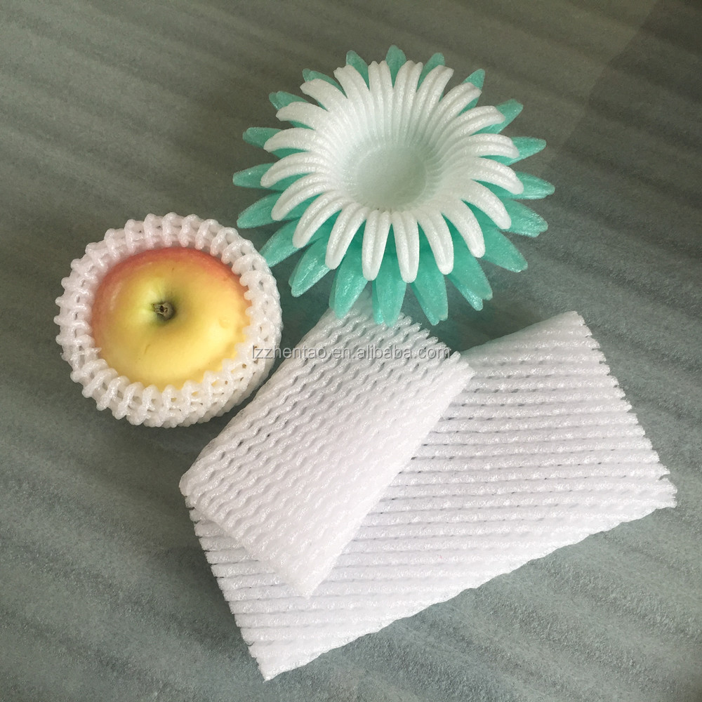 Polyethylene foam net fruit foam sleeve