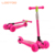 New 2019 hot selling boys toy 3 wheel mini kick kids scooter folding with sound and lights for 5 year old