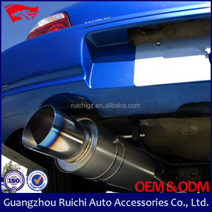 (8004s)New arrival 304 stainless steel exhaust muffler pipe,thickness 5mm