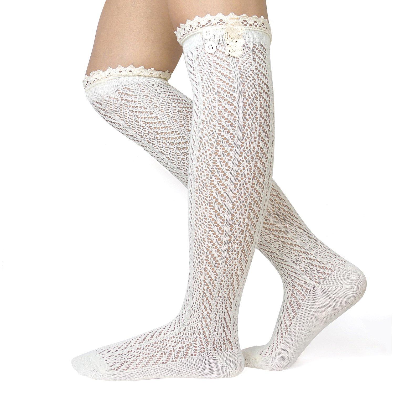 1c90cc1f30bc7 Yükle (800x1280)Women Knit Socks Lace Knee High Socks Acrylic Yarn Winter  Warm Socks Cable Knitted Leg Warmers Gray Legwarmers Factory PriceWomen Knit  Socks ...