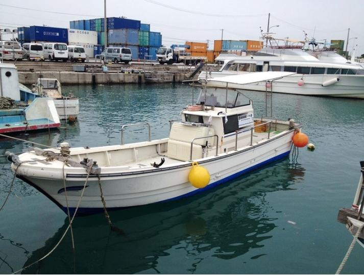 Used small fiberglass fishing boat buy used fishing for Fishing boat cost