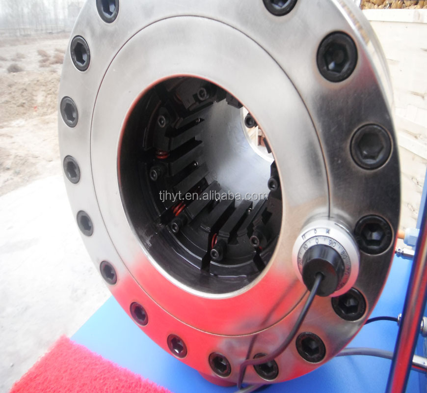 brake hose machine