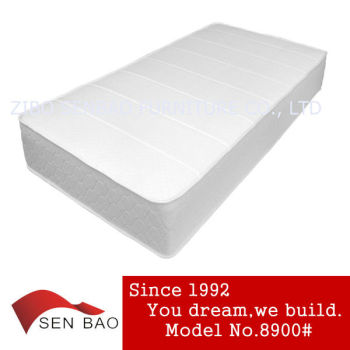 Compress memory foam mattress with modern appearance 8900#