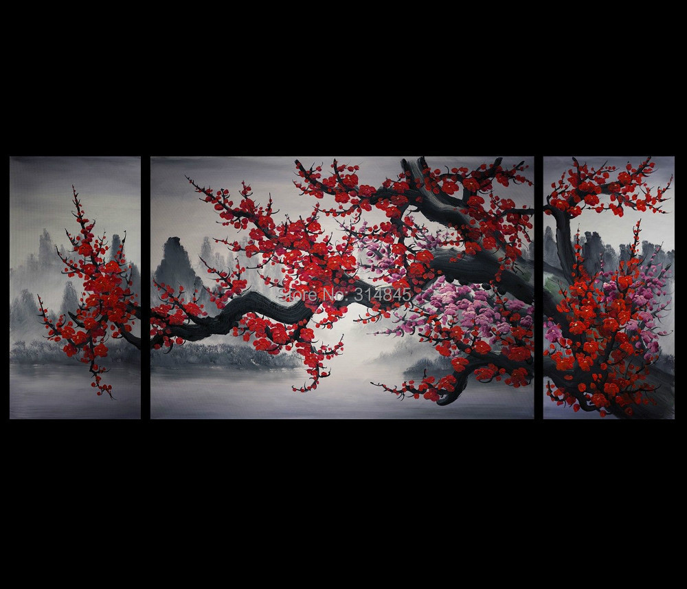 Modern Abstract Art Painting Canvas Wall Art Japanese ...