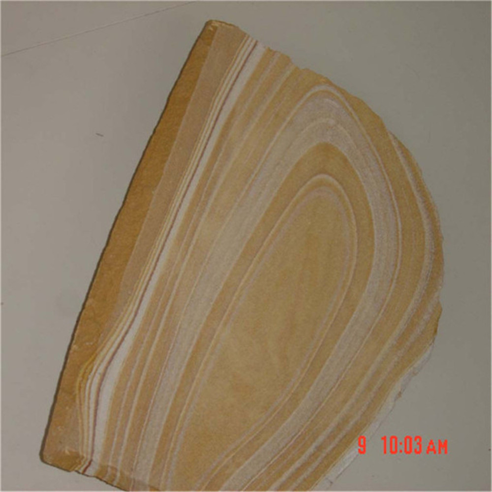 Yellow sandstone paving natural sandstone carving tile