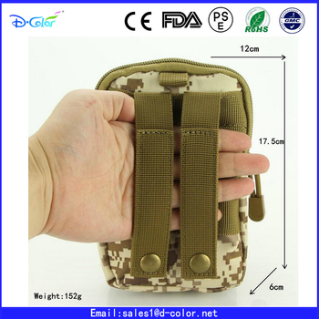 Hot Tactical Waist Pack Small Pocket Military Molle Pouch Belt Running Pouch Travel Camping Bags Soft back