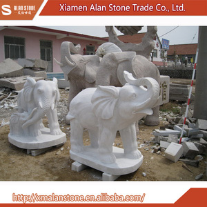Wholesale China Import Carved Marble Elephant Statue