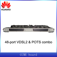 Huawei DSLAM H83DCCME board providing VDSL2 and POTS service