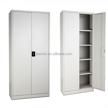 3 Layer Stainless Steel Short Cabinet , File Storage Cabinet PVC Rolling  Door Meta Solid Filing