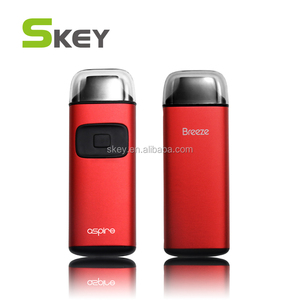 Hot Sale Aspire Breeze Starter Kit with 2ml of e-Juice Capacity & 650 mAh Built-in Battery TPD Regulations' All-in-one Device