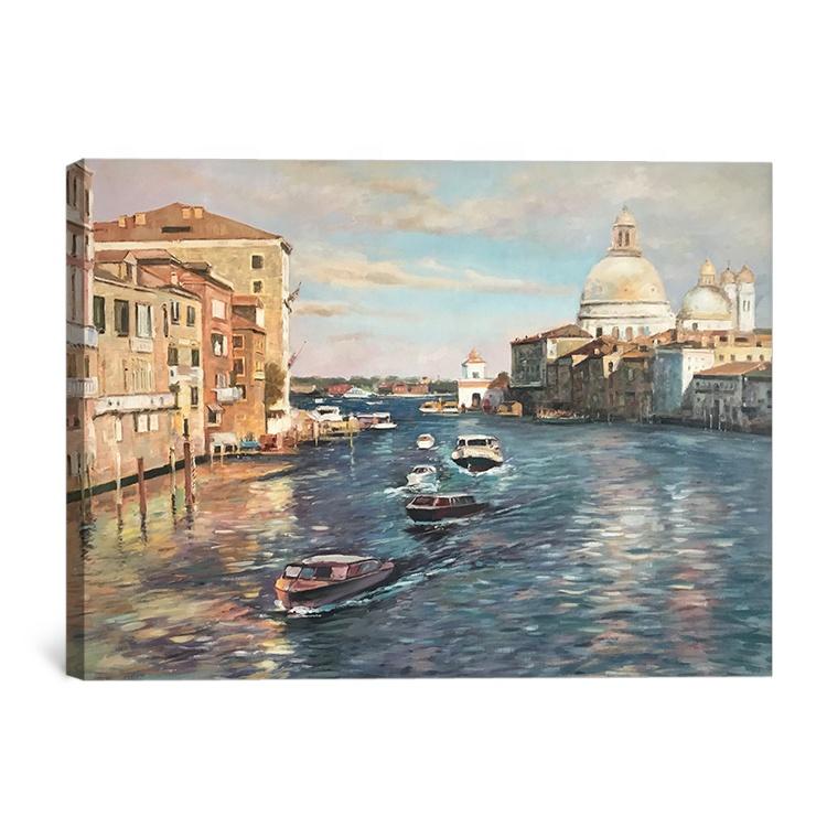 день панорамная фотография венеция на холсте историки