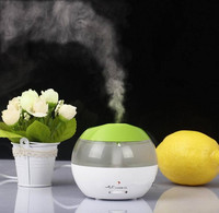 China Market LED Cool Mist Diffuser Humidifier Mini USB Desktop Air Humidifier Purifier