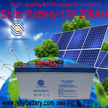 solar gel battery 12v 200ah 225ah,deep cycle lead acid battery with cheap price for solar system