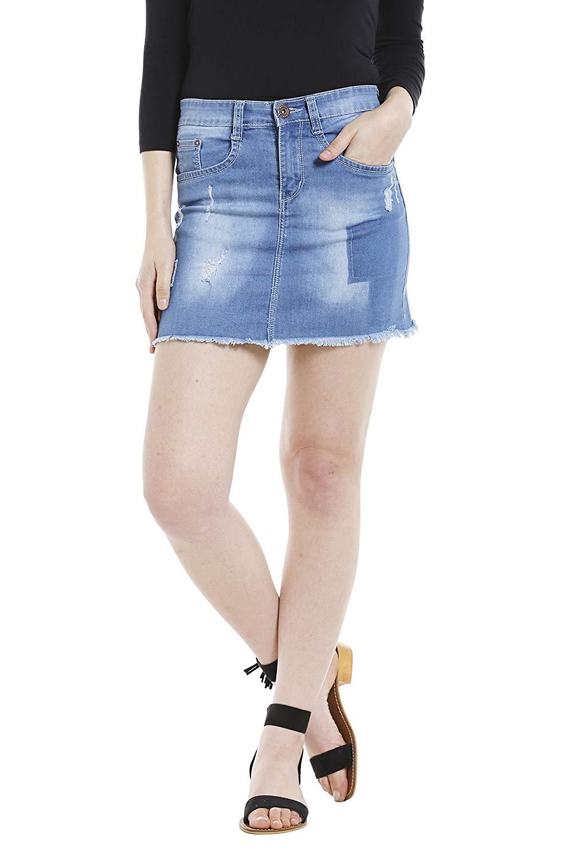 a90681e8b9 Buy Womens Maxi Denim Skirt Dark Wash Blue long fashion modest jean ...