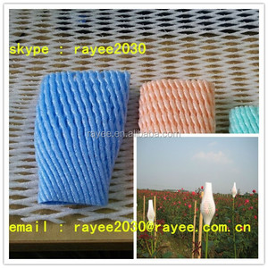 China Supplier Cheap EPE Foam Fruit Net , Rose net , net espuma