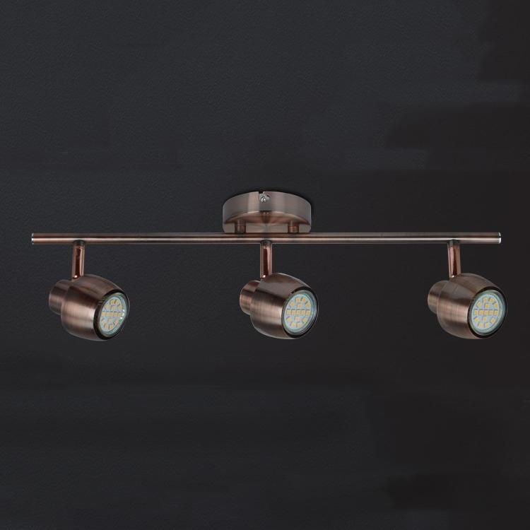 Antique Copper Led Tracking Spotlight