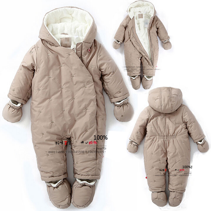 9833e700a77a Buy Franch Brand Baby Winter Rompers 2015 New Newborn Girl Flannel ...