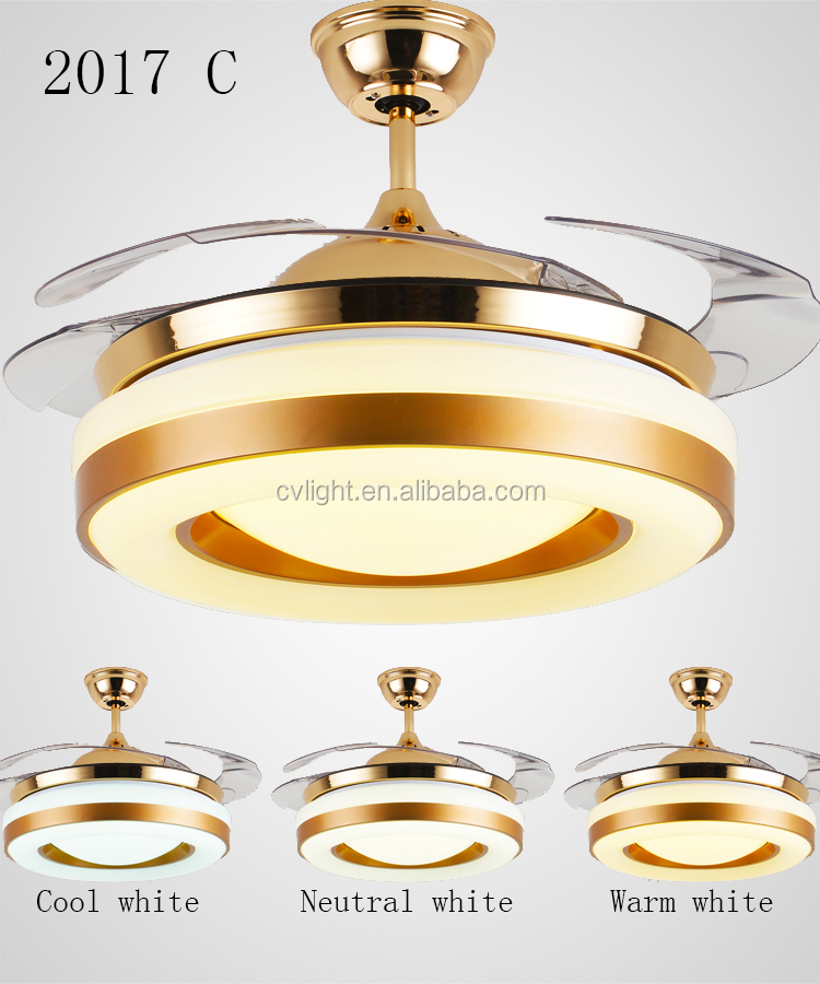 2017 orient ceiling fan with led light restaurant led ceiling fan