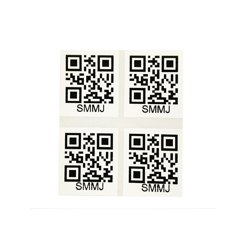 Sterke Lijm Custom Made anti-namaak QR Code Label