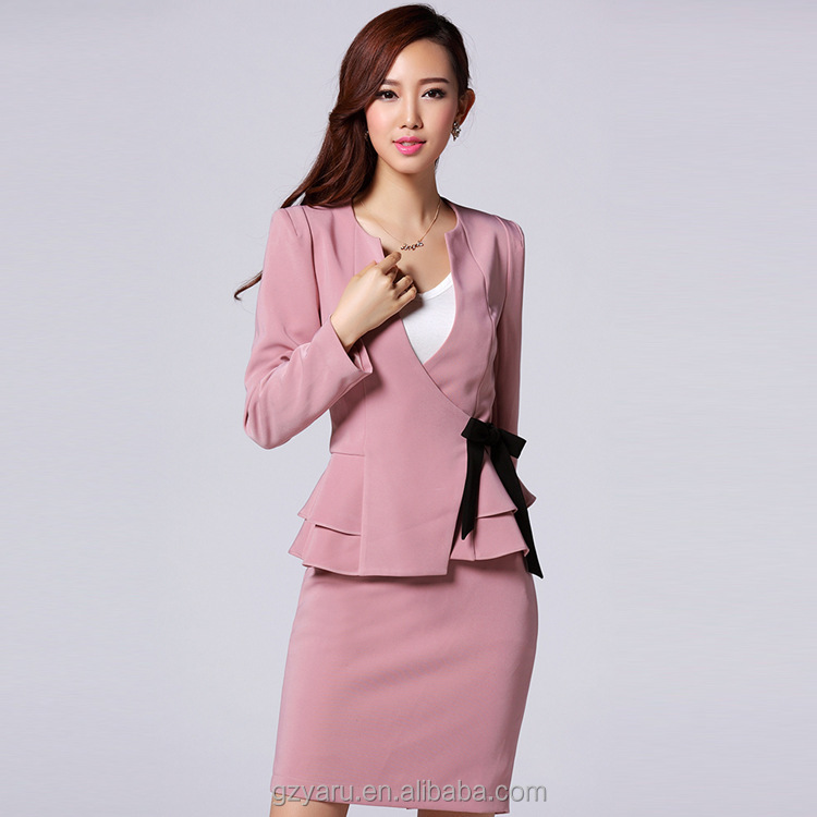 2015 Spring China Women Suit Factory