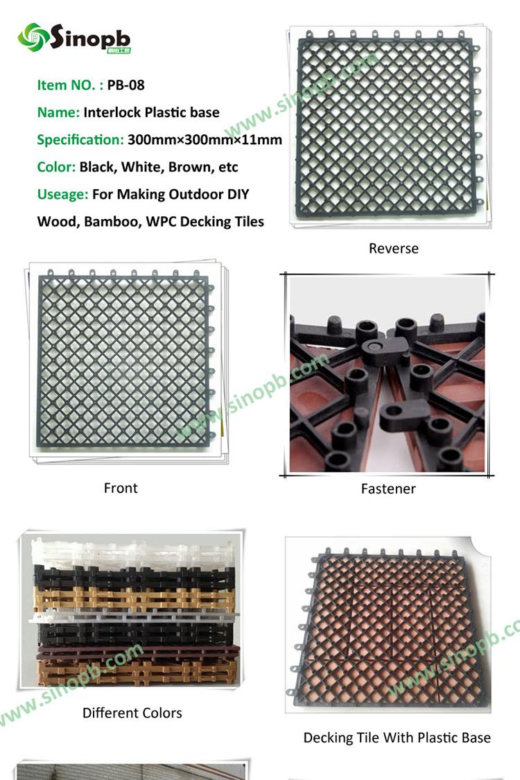 wholesale stone flooring stone tiles use plastic base diy decor