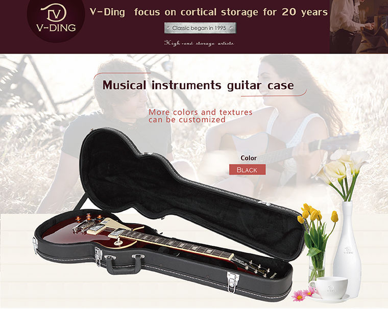 Vding China Wholesale Brown Acoustic Guitar Hard Case High-grade ...