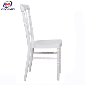 Durable stacking wooden napoleon chair for wedding