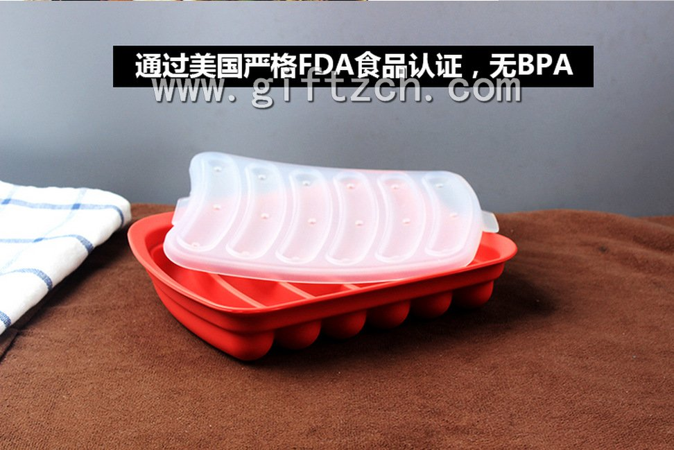 DIY Sausages silicone mould