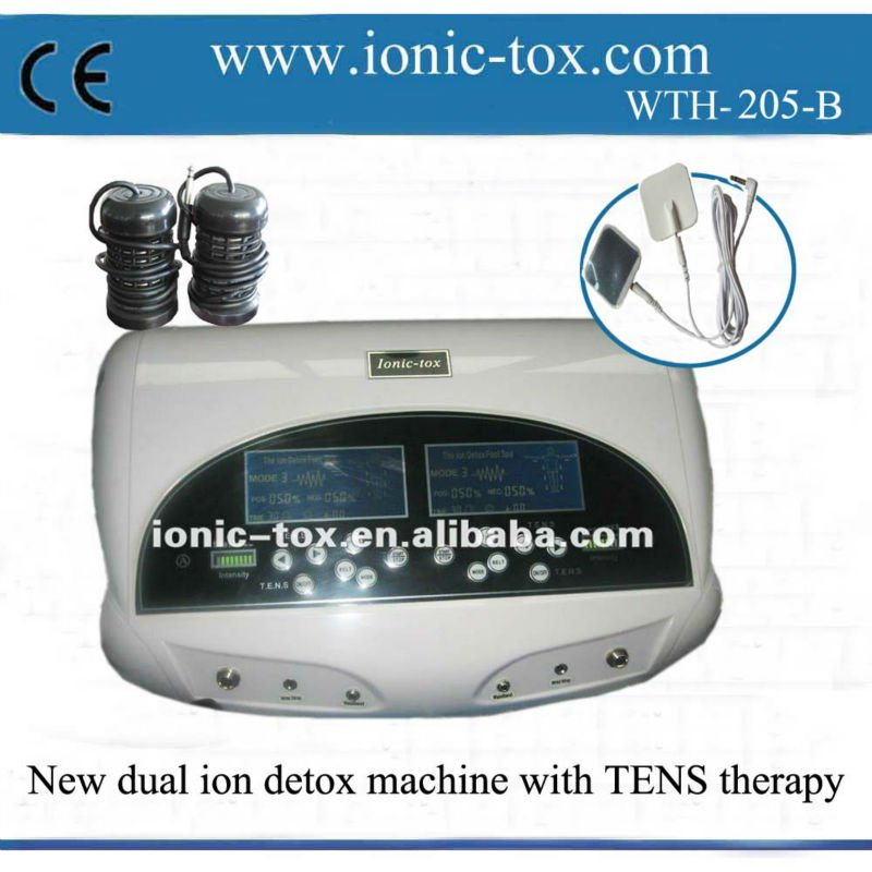 Body Toxin Remover Deox Foot Ionic Health Spa With Acupuncture To ...