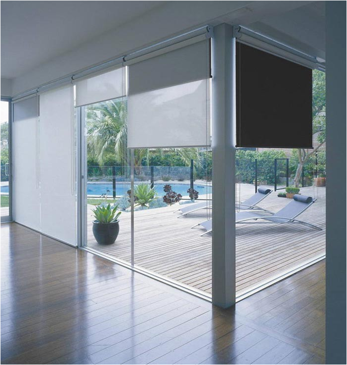 dual roller shades double roller blind with high quality