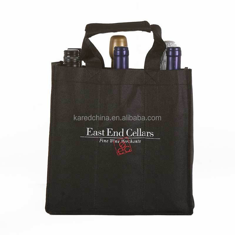 hot design packing bag bottle bag organza bag to wine