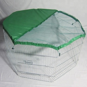 2018 Good Quality Factory Foldable Pet Playpen Rabbits Hutches