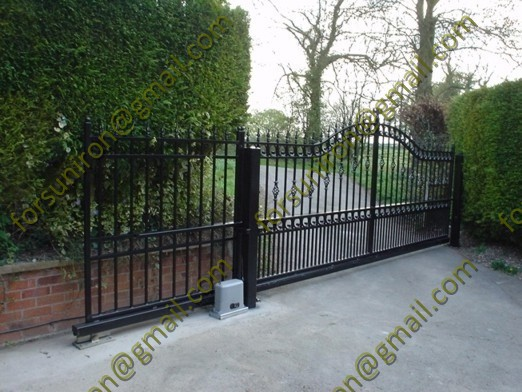 Sliding wrought iron driveway gates buy
