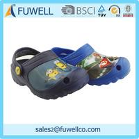 Printed eva soft clog and clog shoes women men