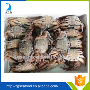 HACCP Whole Frozen Black mud Crab