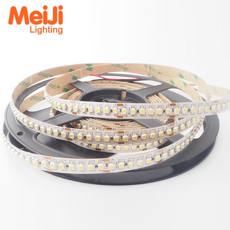 Wholesale Low Cost 5m per Roll 15mm Heat Resistant 240 leds/m 12V 24V SMD 3528 Flexible LED Strip