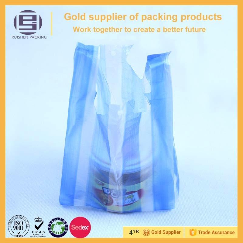Jewelry Company Custom Hdpe T Shirt Plastic Bag Plastic