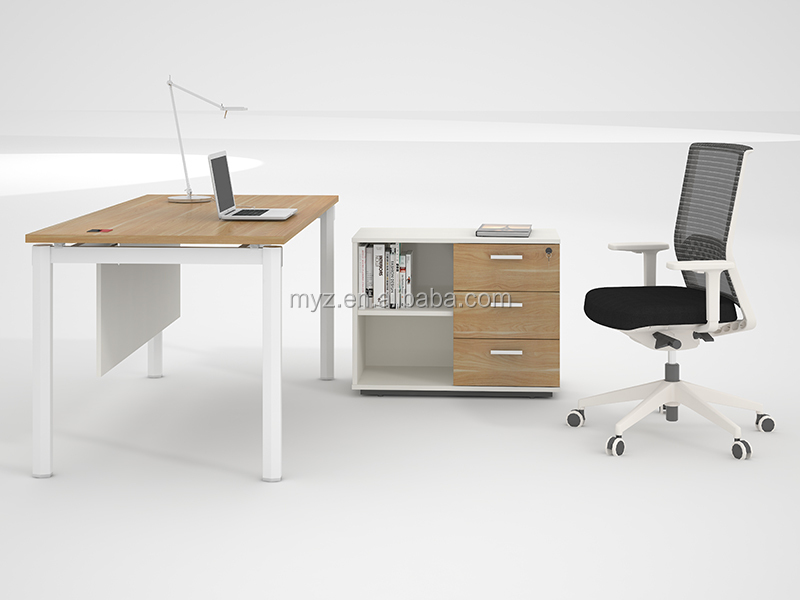 wooden luxury desk executive director office table design