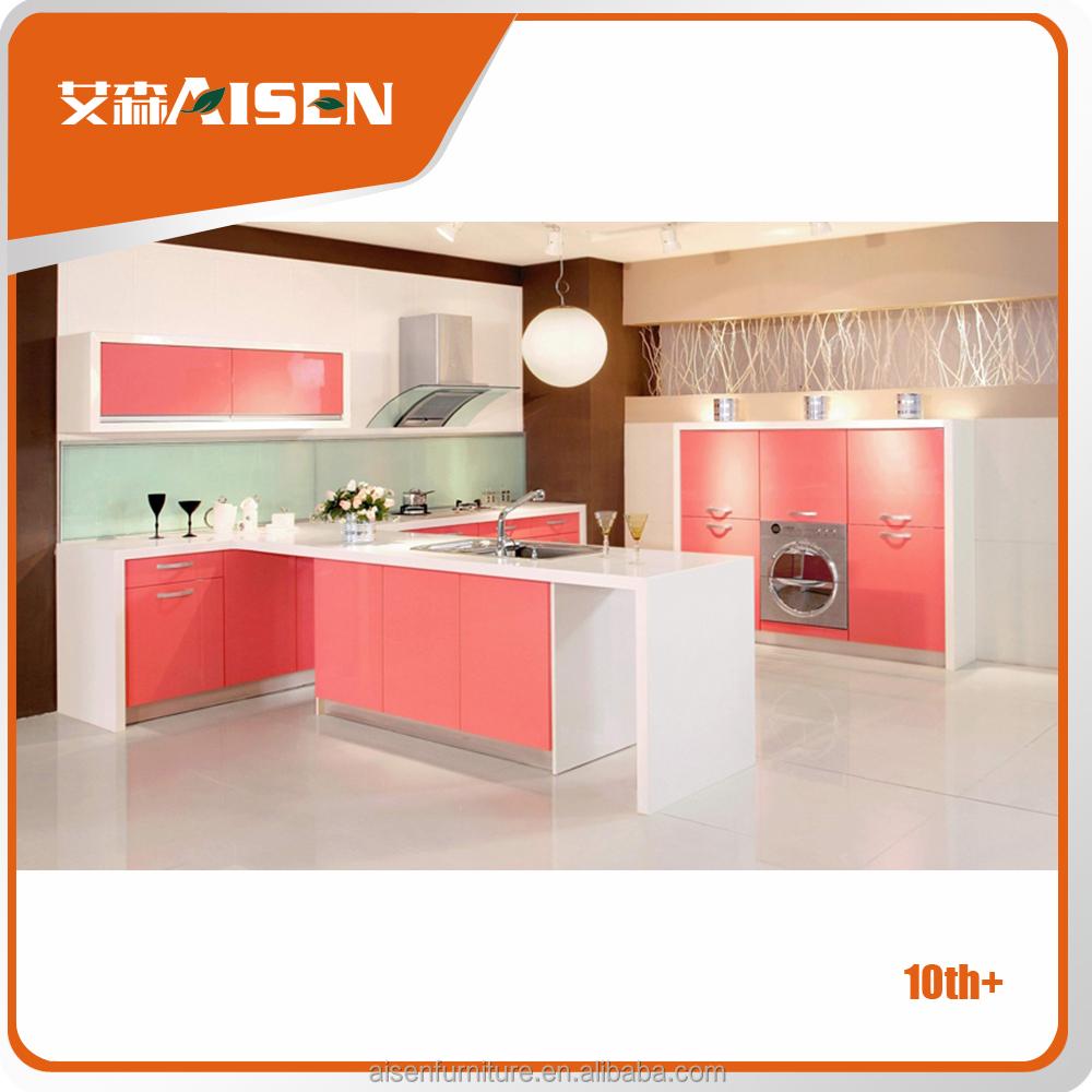 Pengiriman Tepat Waktu Pabrik Langsung Perabot Dapur Lemari Dapur