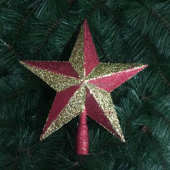 walmart modern christmas shooting star decoration xmas tree toppers - Walmart Christmas Tree Toppers